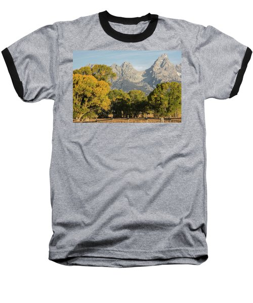 Baseball T-Shirt featuring the photograph Signs Of Autum by Colleen Coccia