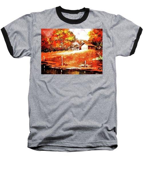 Signs Of Autumn Baseball T-Shirt