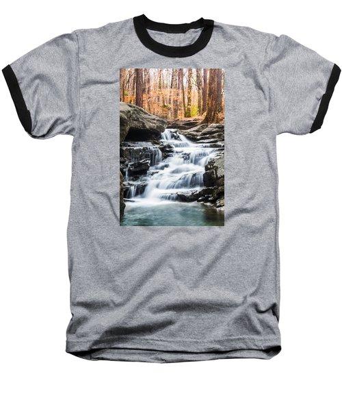 Autumn At Moss Rock Preserve Baseball T-Shirt by Parker Cunningham