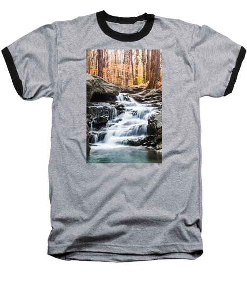 Autumn At Moss Rock Preserve Baseball T-Shirt