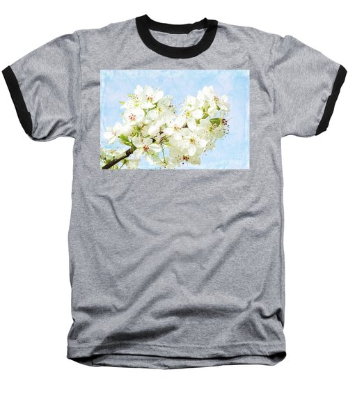 Signs Of Spring Baseball T-Shirt by Inspirational Photo Creations Audrey Woods