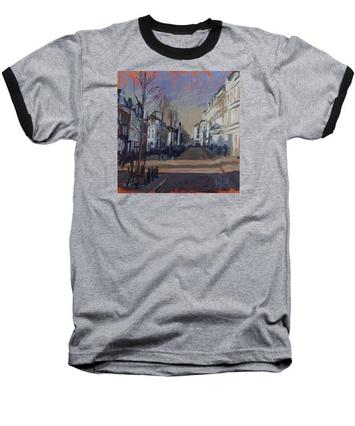 Baseball T-Shirt featuring the painting Silence Before The Storm by Nop Briex
