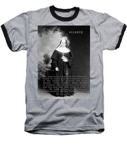 Silence Baseball T-Shirt