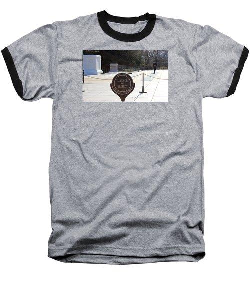Silence Baseball T-Shirt by Jewels Blake Hamrick
