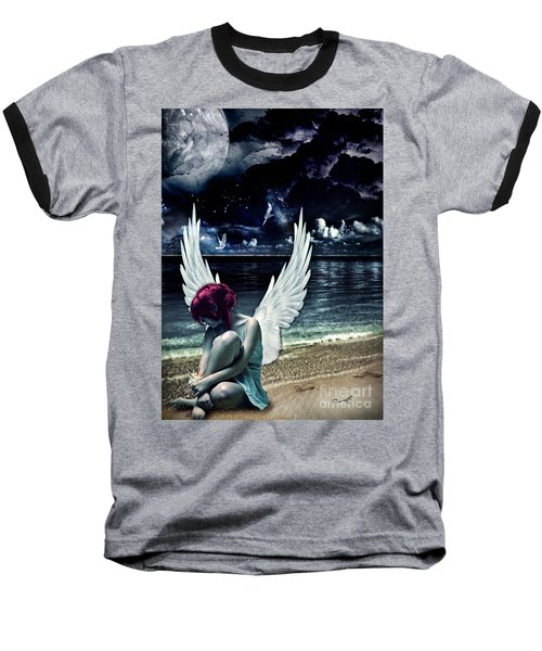 Silence Of An Angel Baseball T-Shirt