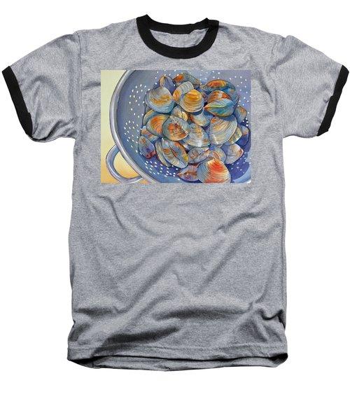 Silence Of The Clams Baseball T-Shirt