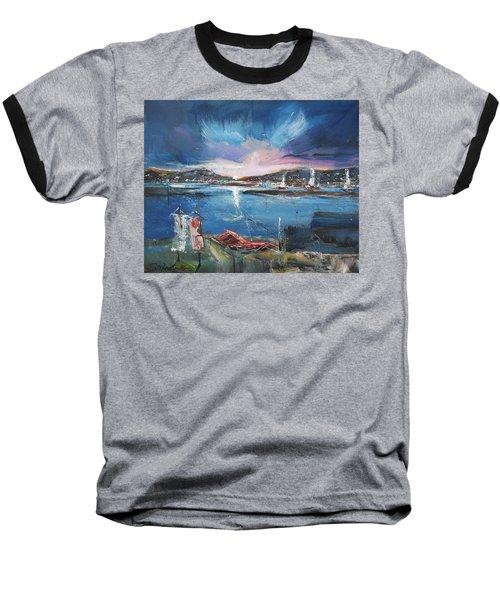 Silent Evening IIi Baseball T-Shirt