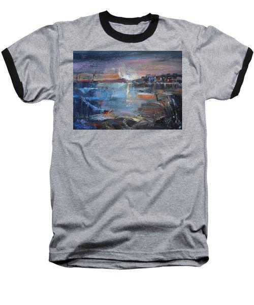 Silent Evening  Baseball T-Shirt