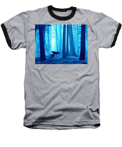 Baseball T-Shirt featuring the photograph Silent Forest by Al Fritz