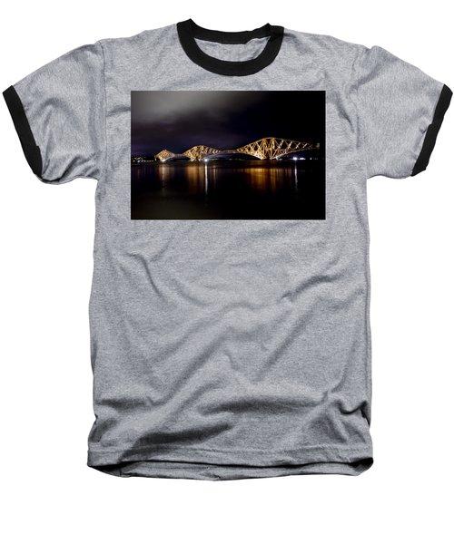 Silent Lights Of The Magic Night. Baseball T-Shirt