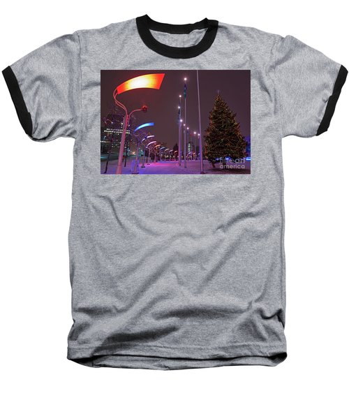 Baseball T-Shirt featuring the photograph Silent Night.. by Nina Stavlund