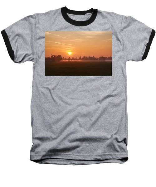 Baseball T-Shirt featuring the photograph Silent Prelude by Annie Snel