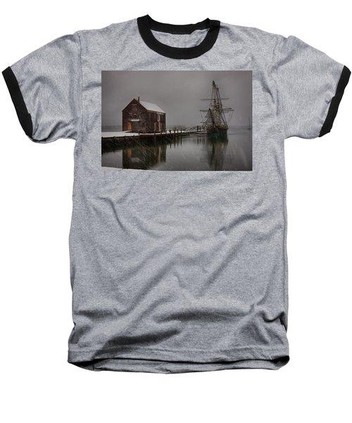 Silently The Snow Falls. Baseball T-Shirt