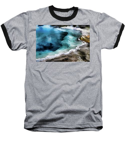 Silex Hot Springs   Impressionism Baseball T-Shirt