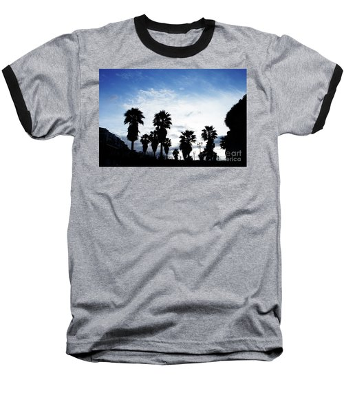 Silhouette In Tropea Baseball T-Shirt
