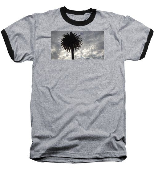 Silhouette Solo Palm  Baseball T-Shirt by Nora Boghossian