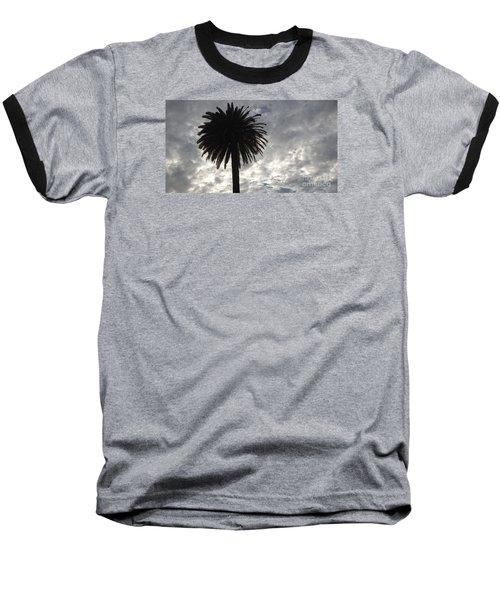 Silhouette Solo Palm  Baseball T-Shirt
