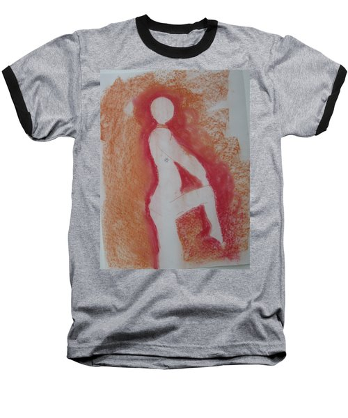 Silhouetted Figure Baseball T-Shirt