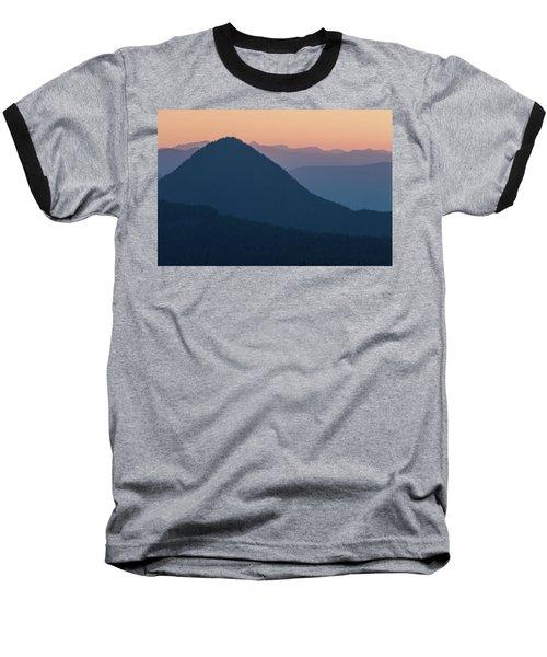 Silhouettes At Sunset, No. 2 Baseball T-Shirt