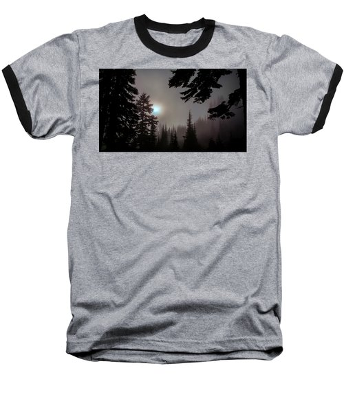 Silhouettes In The Mist 2008 Baseball T-Shirt