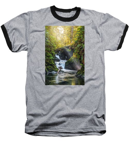 Silk Steps Baseball T-Shirt by James Heckt