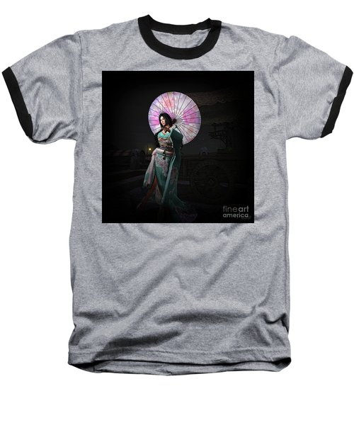 Silks And Parasols 1 Baseball T-Shirt