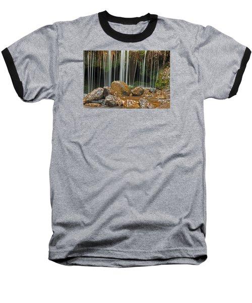 Silky Falls Baseball T-Shirt
