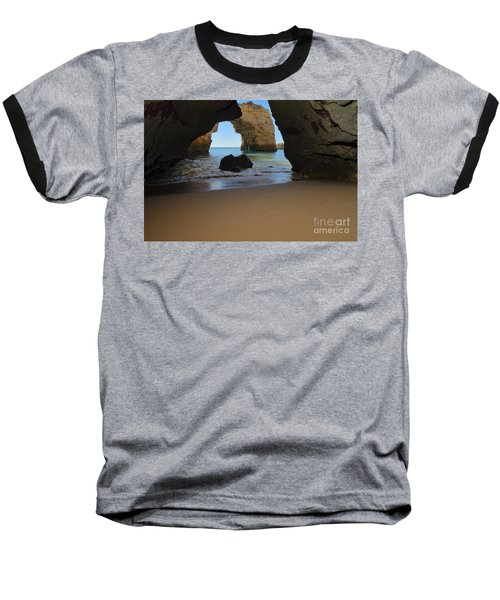 Silky Sands And Arch Baseball T-Shirt