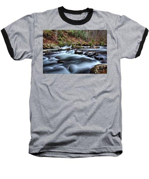 Silky Smooth Baseball T-Shirt by Douglas Stucky