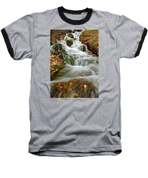 Silky Waterfall Baseball T-Shirt