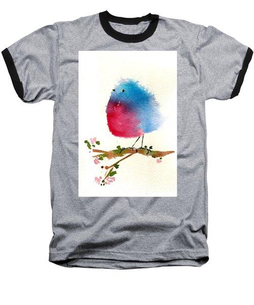 Silly Bird #1 Baseball T-Shirt