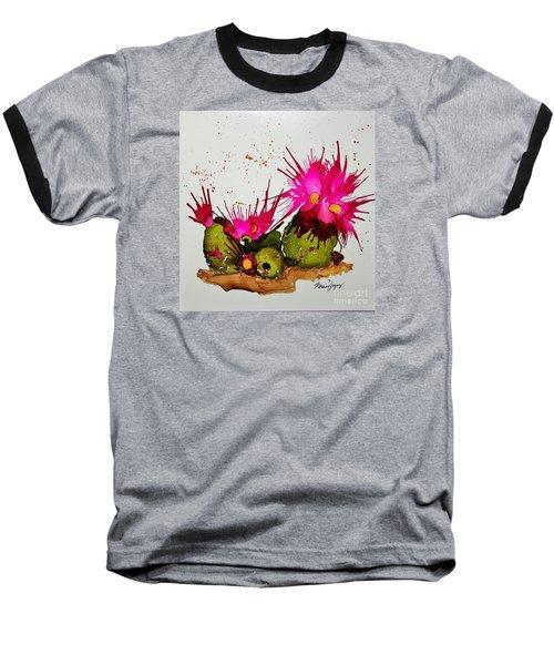 Silly Cactus Baseball T-Shirt