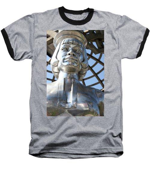 Silver Anna May Wong Baseball T-Shirt
