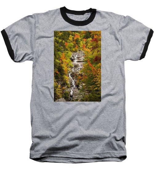 Silver Cascade Baseball T-Shirt