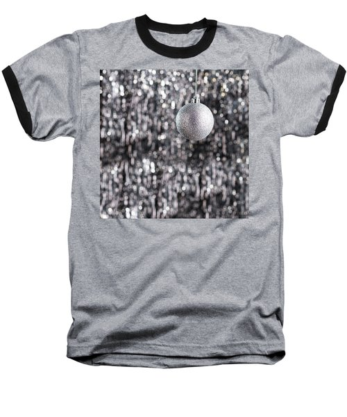 Baseball T-Shirt featuring the photograph Silver Christmas by Ulrich Schade