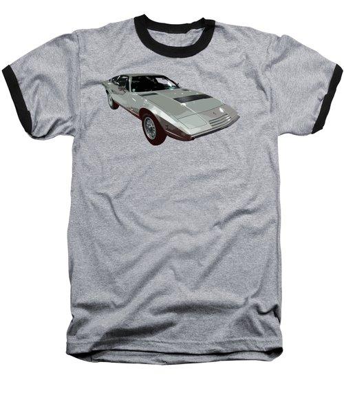 Silver Classic Sport Art Baseball T-Shirt