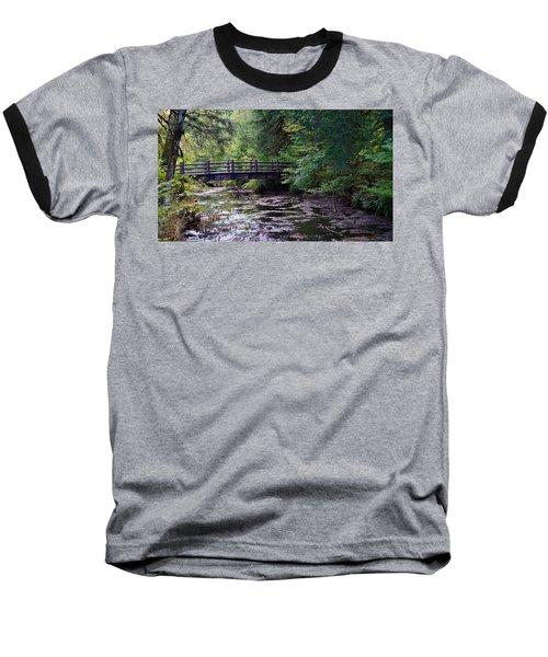 Silver Creek Falls #38 Baseball T-Shirt