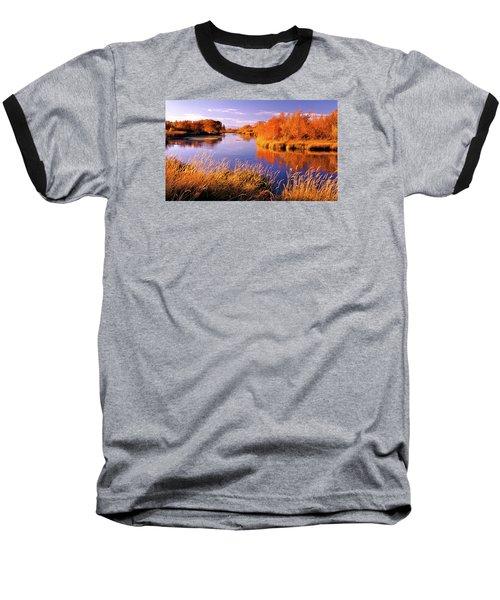 Silver Creek Fly Fishing Only Baseball T-Shirt