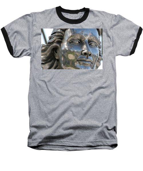 Silver Delores Del Rio Baseball T-Shirt