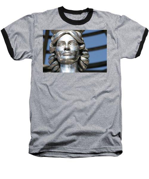 Silver Dorothy Dandridge Baseball T-Shirt