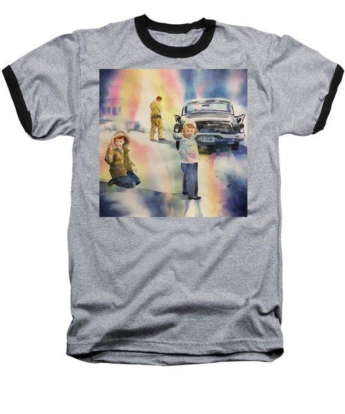 Silver Hawk Baseball T-Shirt