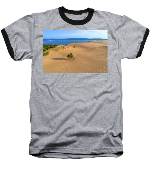 Silver Lake Dunes Baseball T-Shirt