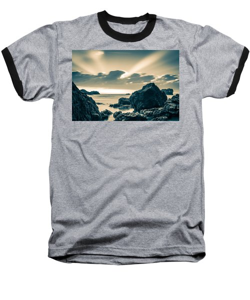 Baseball T-Shirt featuring the photograph Silver Moment by Thierry Bouriat