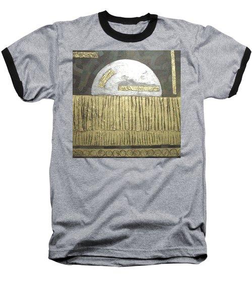 Silver Moon Baseball T-Shirt by Bernard Goodman