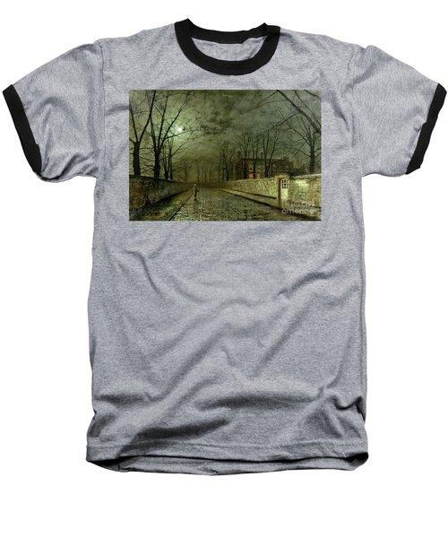 Silver Moonlight Baseball T-Shirt