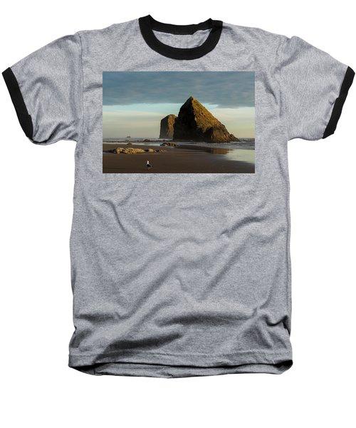 Silver Point Seastacks Baseball T-Shirt