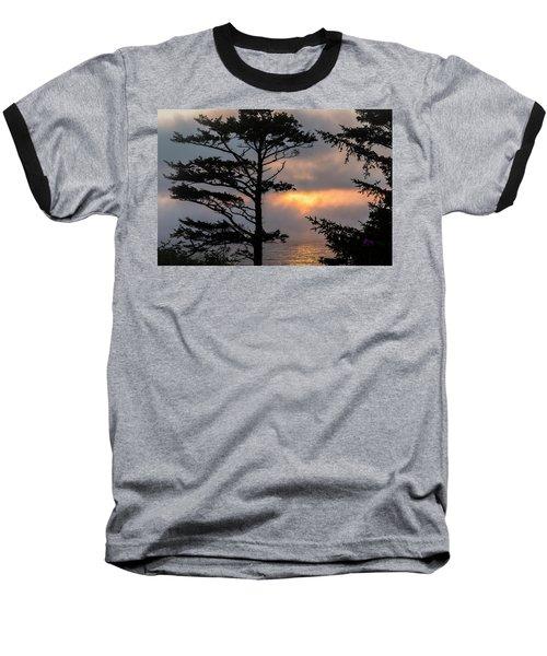 Silver Point Silhouette Baseball T-Shirt