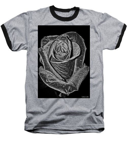 Silver Rose Baseball T-Shirt
