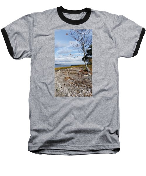 Baseball T-Shirt featuring the photograph Silver Sands by Raymond Earley