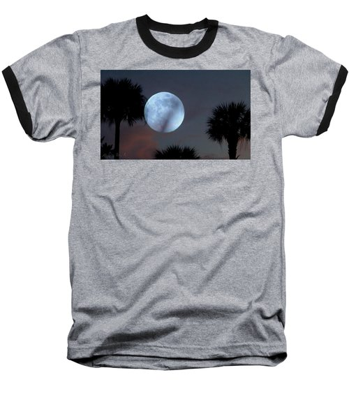 Silver Sky Ball Baseball T-Shirt